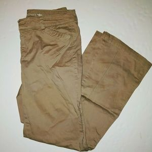 Dockers Tan Khaki pants womens 8 m